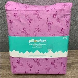 Microfibre sheet set frolic brushed for softness